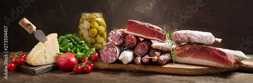 Italian food Fototapeta
