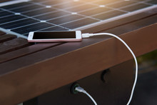 Photo Of Mobile Phone Charging...