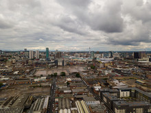 Aerial View Of The City Centre...