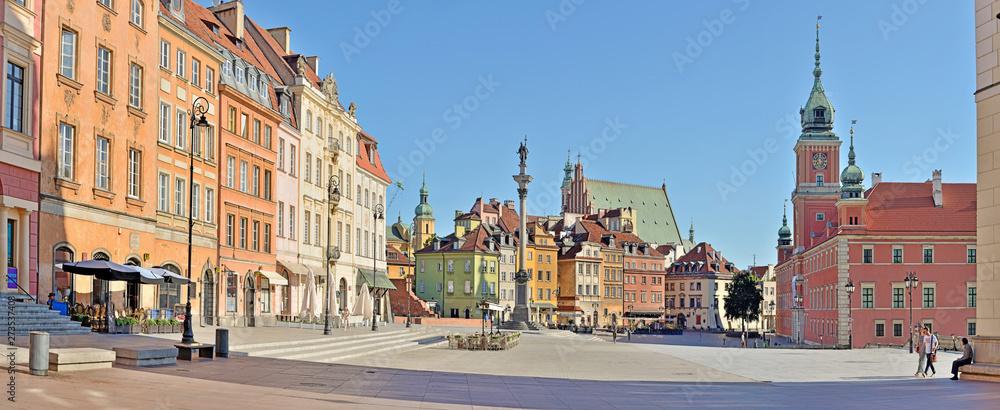 Fototapety, obrazy: Castle Square - Warsaw, Poland