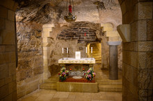 The Grotto On Lower Church Of Mary's Announcement