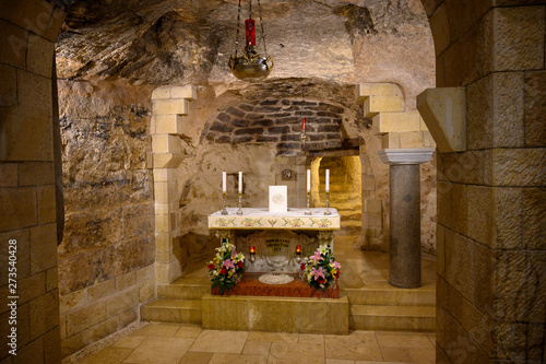 Photo The Grotto on Lower Church of Mary's Announcement