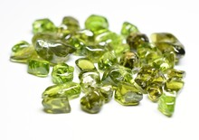 Peridot Tumbled Gemstones