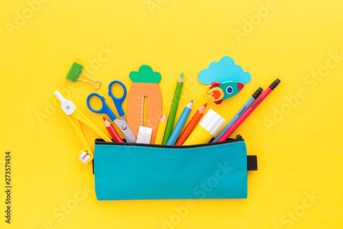Fotomural Back to school concept