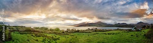 Panoramic view of bay near ...