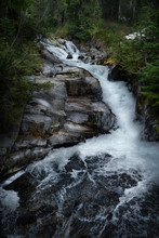 Water Fall Mt Rainer, Long Exp...