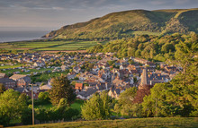 View Of Porlock, Exmoor Nation...