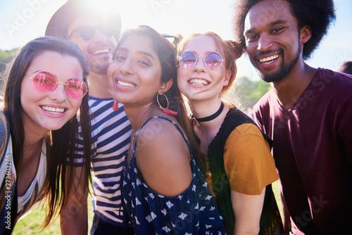Selfie of five best friends - 273603286