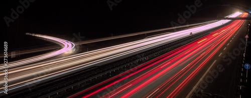 Panorama Datenautobahn in Deutschland #273614689