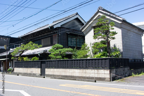 Fototapety, obrazy: Townscape of Okabe on old Tokaido road in Fujieda city, Shizuoka prefecture, Japan