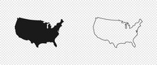 USA Map. American Map. United ...