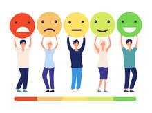 Customers Feedback Concept. Pe...