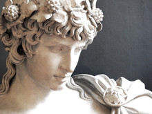 Ancient Greek/Roman Statue Sculpture Of The Famous Antinous Lover Of Emperor Hadrian