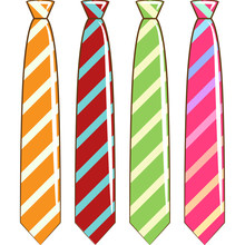 Necktie Vector Graphic Design Clipart
