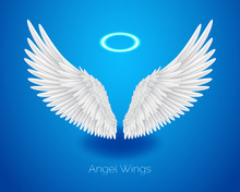 White Angel Wings And Shining ...