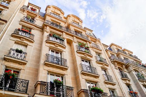 Obraz na plátně façade parisienne
