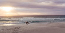 Horse Riding On The Beach At S...