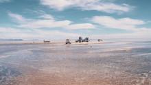 Jeep Tours For Salt Flats In Salar De Uyuni Desert In Bolivia