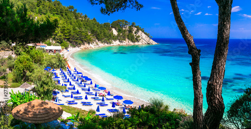 One of the most beautiful beaches of Greece - Lemonakia in Samos island
