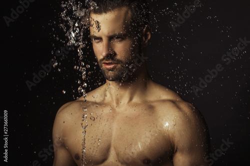 Sexy mokry łup