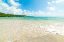 Clear Water In Pointe De La Saline Beach In Guadeloupe
