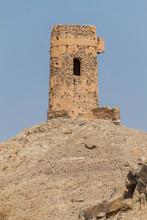 Hilltop Watchtower Near Ibra, Oman