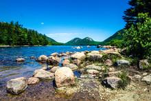 The Bubble Mountains Overlooking Jordon Pond, Acadia National Park, Maine