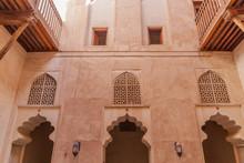 Inner Courtyard Of Jabrin Castle, Oman