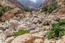 Massive Boulders In Wadi Tiwi Valley, Oman