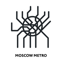 Moscow Metro Map Underground S...