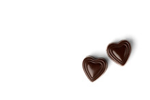 Chocolate Sweets In Heart Shap...
