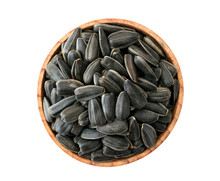 Roasted Sunflower Seeds In Woo...