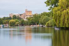 Windsor Castle Overlooking The...