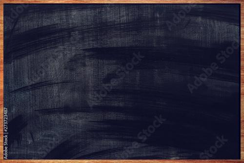 Obraz na plátně Dirty school blackboard