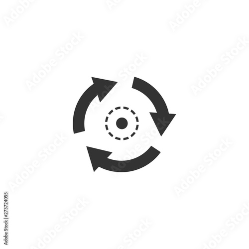 Consistent icon in simple design. Vector illustration