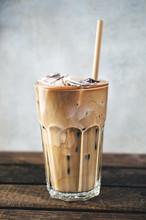 Fresh Iced Coffee With Milk