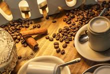 Textura Café E Canela