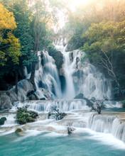 Kuang Si Falls Flow