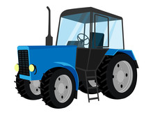 Blue Tractor.
