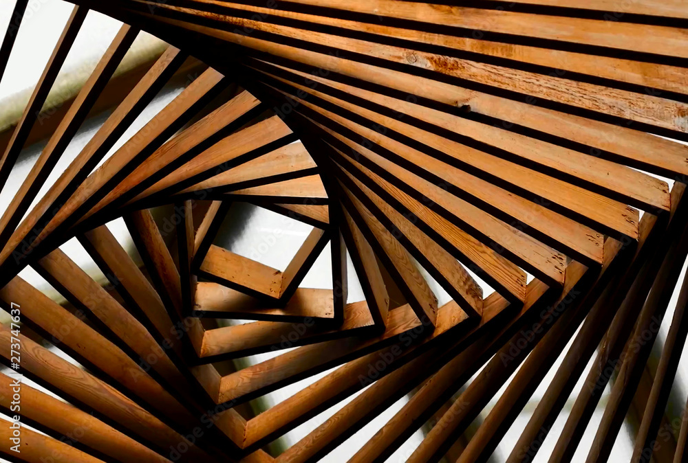 Fototapety, obrazy: Abstraction from wood