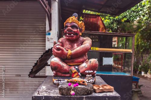Hindu statue, Bali, Indonesia
