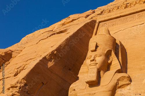 Fototapeta Gran Templo de Abu Simbel, Abu Simbel, Valle del Nilo, Egipto.