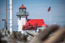 Lighthouse At Point Robinson P...