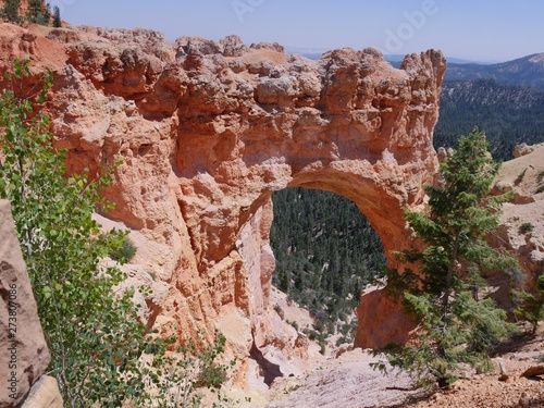 The Natural Bridge is one of the top attractions at Bryce Canyon National Park in Utah.