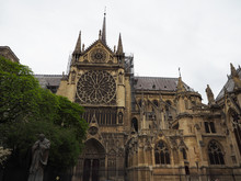 North Notre-Dame Cathedral Bef...