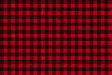 Red Black Lumberjack Plaid Sea...