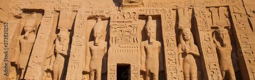 Fényképezés  Templo de Hathor, Abu Simbel, Valle del Nilo, Egipto