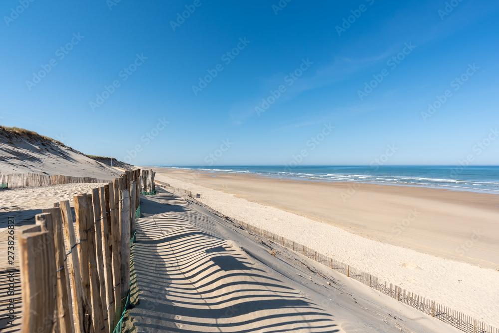 Fototapety, obrazy: HOURTIN PLAGE (Gironde, France)