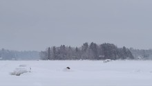BMW I8 Supercar Drifting On Frozen Sea In Vaasa (Finland). Shot In Slow-motion With Red Monster 8K. In 4K