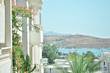 Leinwanddruck Bild - View of the sea coast and the city of Bodrum. - Image